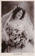 AN84 Edwardian Actress - Miss Denise Orme - RPPC - Theatre