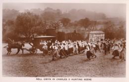 AO63 Runnymede Pageant RPPC, Nell Gwyn In Hunting Scene - Surrey