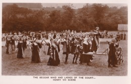 AO63 Runnymede Pageant RPPC, The Beggar Maid And Ladies Of The Court - Surrey