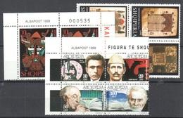 Albania 3 Sets Mnh ** 1999 - Albanie