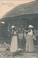 JLHA DE S. THIAGO - PILANDO MILHO - Cap Vert