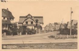 CPA - Belgique -  Flandre Occidentale - Westende - Cottages - Westende