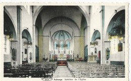 Aubange:   Intérieur De L'église  (couleur) - Aubange