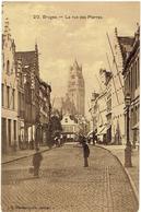 BRUGES - La Rue Des Pierres - Edit. G. Hermans Anvers - Brugge