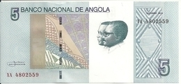 ANGOLA 5 KWANZAS 2012(2017) UNC P 151A - Angola