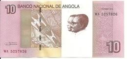 ANGOLA 10 KWANZAS 2012(2017) UNC P 151B - Angola