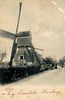 Molen Stolwijk, Windmill, Real Photo, Send From Stolwijk To Molenaar - Watermolens