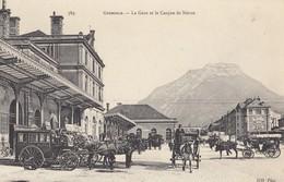 GRENOBLE: La Gare Et Le Casque De Néron - Grenoble