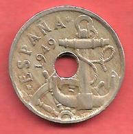 50 Centimos , ESPAGNE , Cupro-Nickel , 1949 ( 53 ) , KM # 777 , Y # 116 - [ 5] 1949-… : Royaume