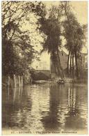 BRUGES - Vue Sur Le Canal Souterrain - N° 37 Edit. Grand Bazar Parisien - Brugge