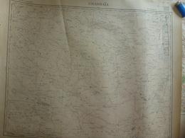 Carte Ghardaïa Algérie 1940 - Cartes Topographiques