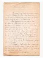 Correspondance Militaire Manuscrite Du Général Darde - Manuscripts