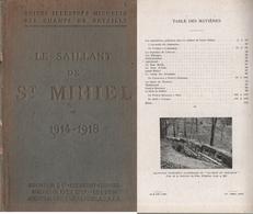 1914-18: Le Saillant De Saint-Mihiel: Tranchée Calonne, Eparges, ...etc Guide Michelin Champs De Bataille. (4 Scannes) - 1914-18