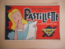 Etiquette = Les Couleurs Pastillette - La Petite Fille Bien Sage - SIAD - Drogisterij & Parfum