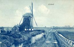 Molen, Zuidmolen, Pijnacker, Bovenmolen, Windmill, Oude- Of Hooge Polder - Watermolens