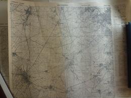 Carte Bodesberg Rhenanie Westphalie Nord Allemagne Deutschland - Cartes Topographiques