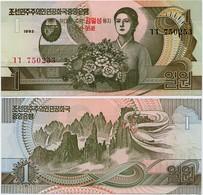 NORTH KOREA       1 Won      Comm.       P-49       1992 (2007)       UNC - Corea Del Nord