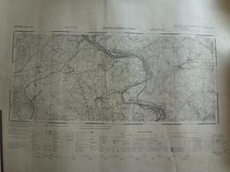 Carte Sarreguemines 3 4 57 Moselle - Cartes Topographiques