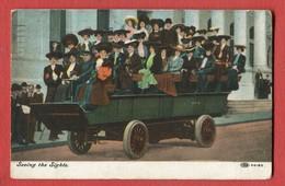 CPA ETATS UNIS NEW YORK - Seeing The Sights Illustration Sur Le Tourisme - Transports