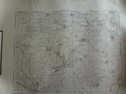 Carte Thionville 57 Moselle - Cartes Topographiques