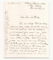 Correspondance Militaire Manuscrite Du Général Darde Du 12 Décembre - Manuscrits