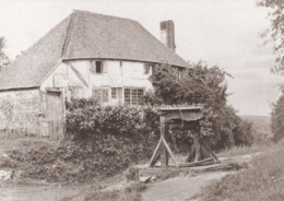 AN03 Kent County Library Reproduction Postcard - Rustic Cottage 1864 - England