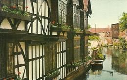 Canterbury (Kent) The Weaver's Houses - Canterbury