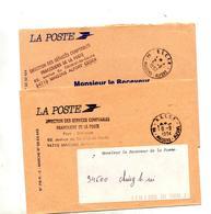 Lettre Franchise Cachet Maisons Alfort D S C F P - Marcophilie (Lettres)
