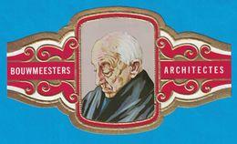 1 BAGUE DE CIGARE GRAND FORMAT BOUWMEESTERS ARCHITECTES HENRI VAN VELDE BELGIE BELGIQUE (  119 MM ) - Bagues De Cigares