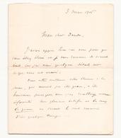 Correspondance Militaire Manuscrite Du Général Darde Du 3 Mai 1916 - Manuscrits