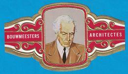 1 BAGUE DE CIGARE GRAND FORMAT BOUWMEESTERS ARCHITECTES FRANK LLOYD WRIGHT U.S.A.  E.U.A. (  119 MM ) - Bagues De Cigares