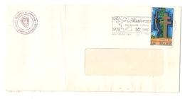 Enveloppe Avec Cachet Maubeuge 1678 - 1978 Avec Timbre N°1940, Mémorial Général De Gaulle - Other