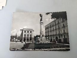 CARTOLINA CAVA DEI TIRRENI - MONUMENTO AI CADUTI E MUNICIPIO - Cava De' Tirreni