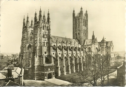 """Canterbury (Kent) The Cathedral, La Cathedrale, La Cattedrale, Der Dom, Stamp """"1907-1957 Jubilee-Jamboree"""" - Canterbury"""