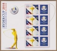 France BF N° 142 ** Golf - Ryder Cup (5245) - Blocs & Feuillets
