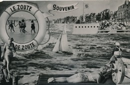 CP - Belgique -  Flandre Occidentale - Knokke - Knocke-Zoute - Souvenir - Knokke