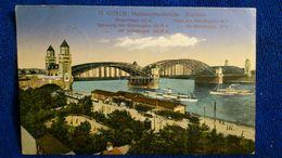 Coeln Hohenzollernbrücke Südseite Germany - Koeln