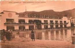 PORT VENDRES LA GARE MARITIME COMPAGNIE DE NAVIGATION MIXTE - Port Vendres