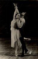 CP Photographie D'un Couple De Danseurs Russes - Reproduction ? - Danza