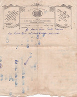 Jewish Judaica Document Jerusalem Israel Palestine - ESRATH NASCHIM - Judaika Judaisme Juive - Invoices & Commercial Documents