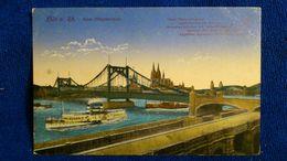 Köln Neue Hängebrücke Germany - Koeln