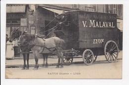 CPA 69 LYON 3eme Raffin Celestin (attelage De Chevaux Pour Déménagement Malaval 195 Avenue Felix Faure) - Lyon 3