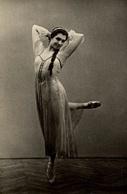 CP Photographie D'une Danseuse Russe - Reproduction ? - Danza