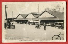 CPA 91 Ste GENEVIEVE DES BOIS - Le Marché De La Gare - éd. Marlet Et Doucet - Sainte Genevieve Des Bois