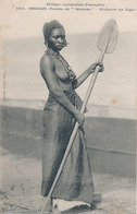 SOUDAN - N° 1013 - FEMME DE SOMONO - PECHEUR DU NIGER (NU) - Sudán