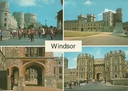 "Windsor (Berkshire) Views Of The Castle, Vues Du Chateau, Vedute Del Castello, Stamp ""Commonwealth Games Edinburgh1996"" - Windsor Castle"