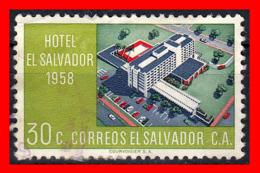 EL SALVADOR ( AMERICA DEL NORTE ) AÑO 1958 HOTEL EL SALVADOR - El Salvador