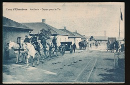 ELSENBORN KAMP  ---  ARTILLERIE  DEPART POUR LE TIR - Elsenborn (Kamp)