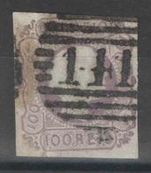 Portugal - YT 8 Oblitéré - 1855-1858 : D.Pedro V