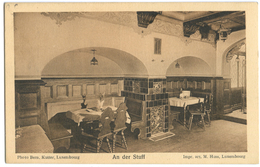 CPA LUXEMBOURG - MAISON OTHON SCHULZ-OBERLINKELS - AN DER STUFF - Luxemburg - Town